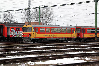 Bzmot 178 at Szolnok on 1st March 2011