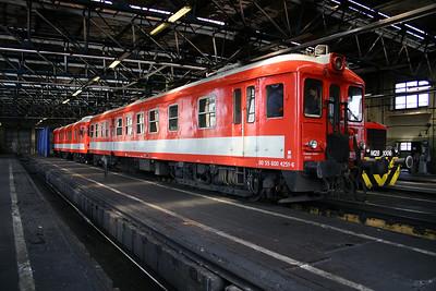 600 4251-6 at Ferencvaros Depot on 18th June 2004