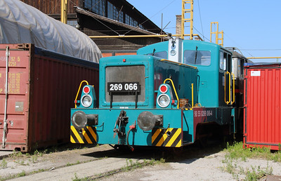 269 066 (98 55 0269 066-4) at Budapest Keleti FLOYD Depot on 6th July 2015