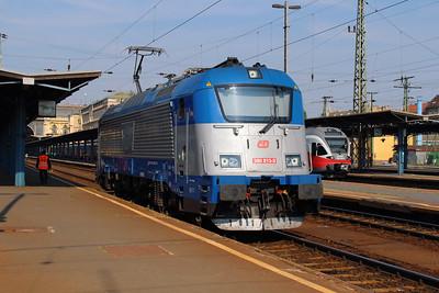 380 013 (91 54 7380 013-3 CZ-CD) at Budapest Keleti on 2nd July 2015