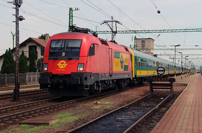 GySEV, 1116 064 (91 81 1116 064-7 A-OBB) at Csorna on 30th June 2015 working IC922 (4)