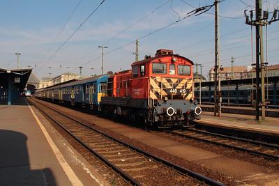 448 419 (5 55 0448 419-9 H-START) at Budapest Keleti on 2nd July 2015