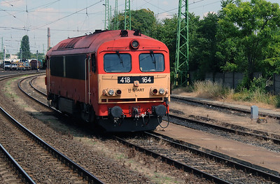 418 164 at Gyor on 30th June 2015 (2)
