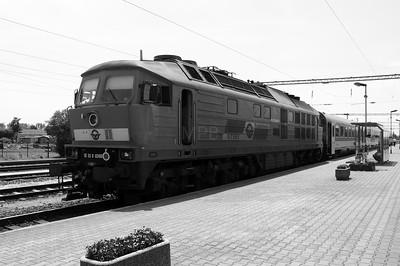 GySEV, 651 008 (92 53 0651 008-0 ex DB 232 682) at Csorna on 30th June 2015 working IC915 (4)