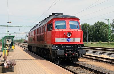 GySEV, 651 008 (92 53 0651 008-0 ex DB 232 682) at Csorna on 30th June 2015 (2)