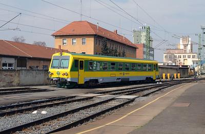 GySEV, 247 504 (95 55 0247 504-4 H-GYSEV) at Szombathely on 24th March 2015 (2)
