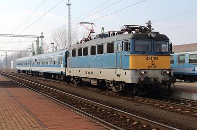 431 181 (91 55 0431 181-1 H-START) at Zalazentivan on 24th March 2015