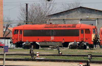 M41 2117 at Szombathely on 24th March 2015