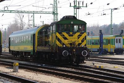 GySEV, 448 306 (98 43 0448 306-3 H-GYSEV) at Sopron on 20th March 2015