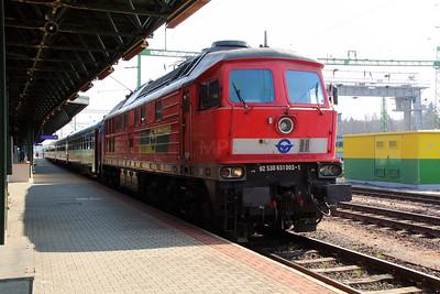 GySEV 651 003 (92 53 0651 003-1 ex DB 232 559) at Sopron on 20th March 2015 (1)