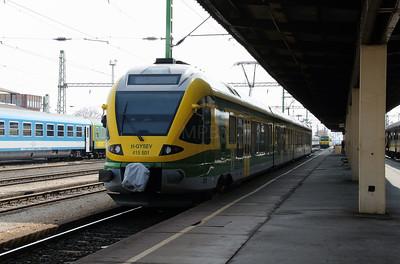 GySEV, 415 501 (94 55 2451 501-3 H-GYSEV) at Szombathely on 24th March 2015