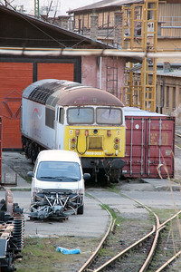 Floyd, 659 003 at Budapest Keleti Depot on 19th March 2014 (9)