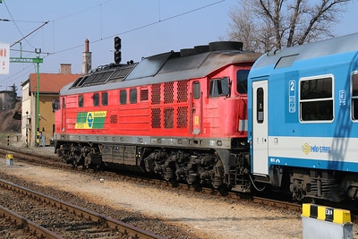 GySEV 651 003 (92 53 0651 003-1 ex DB 232 559) at Sopron on 20th March 2015 (2)