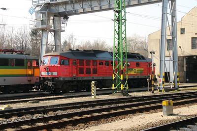 GySEV 651 004 (92 53 0651 004-9 ex DB 232 598) at Sopron on 20th March 2015