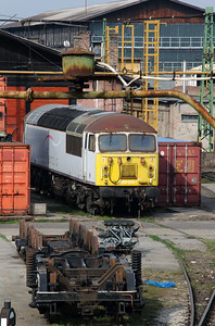 Floyd, 659 003 at Budapest Keleti Depot on 19th March 2014 (4)