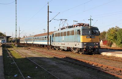 V43 1022 at Eger on 9th October 2010
