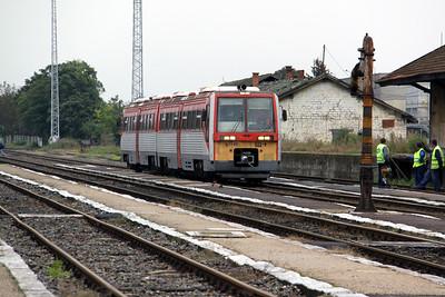 1) 6341 022 at Oroshaza on 5th October 2010 working 7715, 1145 Bekescsaba to Szeged