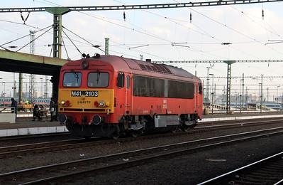 M41 2103 at Szolnok on 7th October 2010