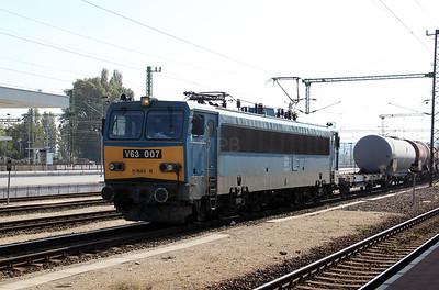 1) V63 007 at Budapest Kelenfold on 11th October 2010