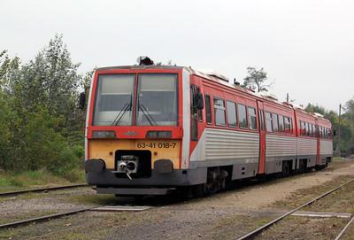 6341 018 at Lakitelek on 8th October 2010 working 37247, 1132 Lakitelek to Szentes