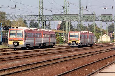 6341 037 & 6341 033 at Hatvan on 9th October 2010
