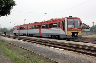 1) 6341 022 at Kunszentmarton on 8th October 2010 working 7222, 0855 Szolnok to Szentes