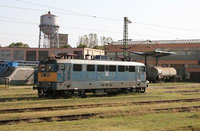 V43 1069 at Dombovar Depot on 11th September 2008