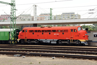 MNOS, M61 019 (92 55 0618 019-7 H-MNOS) at Budapest Kelenfold on 3rd May 2017 (1)