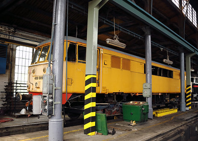 FLOYD, 450 009 (91 55 0450 009-0 H-FLOYD ex UK 86424) at Budapest Keleti Depot on 2nd May 2017 (during official visit) (2)