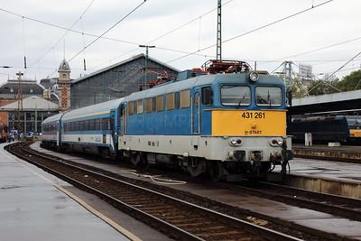 431 261 (91 55 0431 261-1 H-START) at Budapest Nyugati on 3rd May 2017 (2)