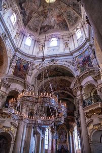 Richards__Interior of St. Nicholas Prague church