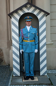 Richards__A Guard at Prague Castle