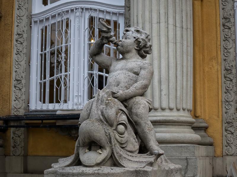 Széchenyi thermal bath (Széchenyi Gyógyfürdő és Uszoda), Budapest, Hungary