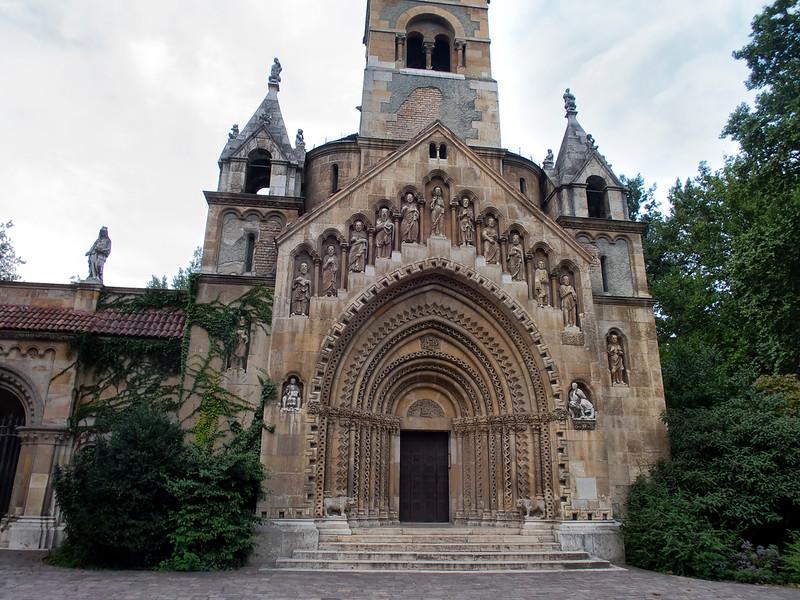 Vajdahunyad Castle - Ják Chapel (Jáki kápolna), Budapest, Hungary