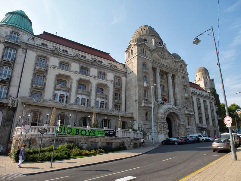 Gellert Baths and Spa, Budapest, Hungary