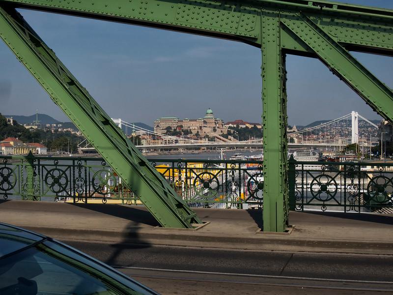 Liberty Bridge (Szabadság híd), Budapest, Hungary