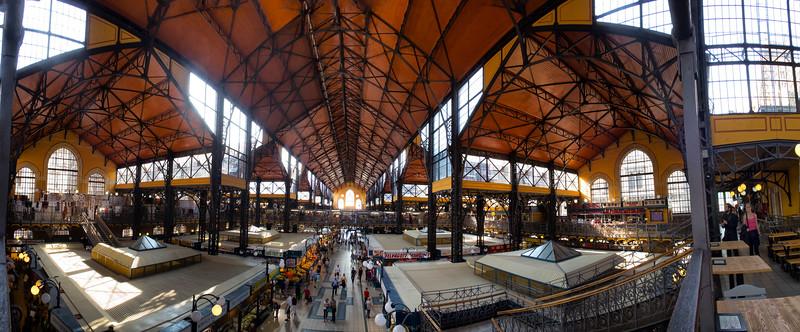 Central Market Hall (Nagy Vásárcsarnok), Budapest, Hungary