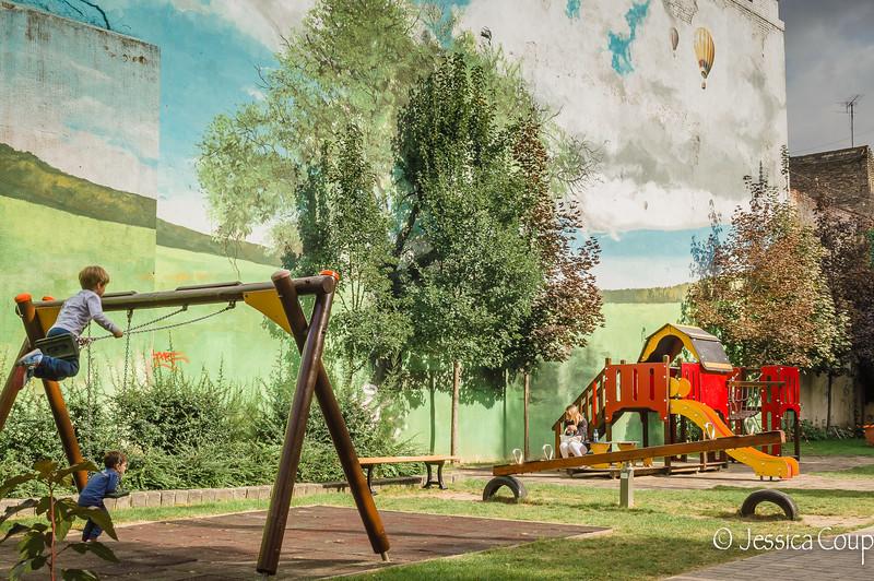 Playground Mural