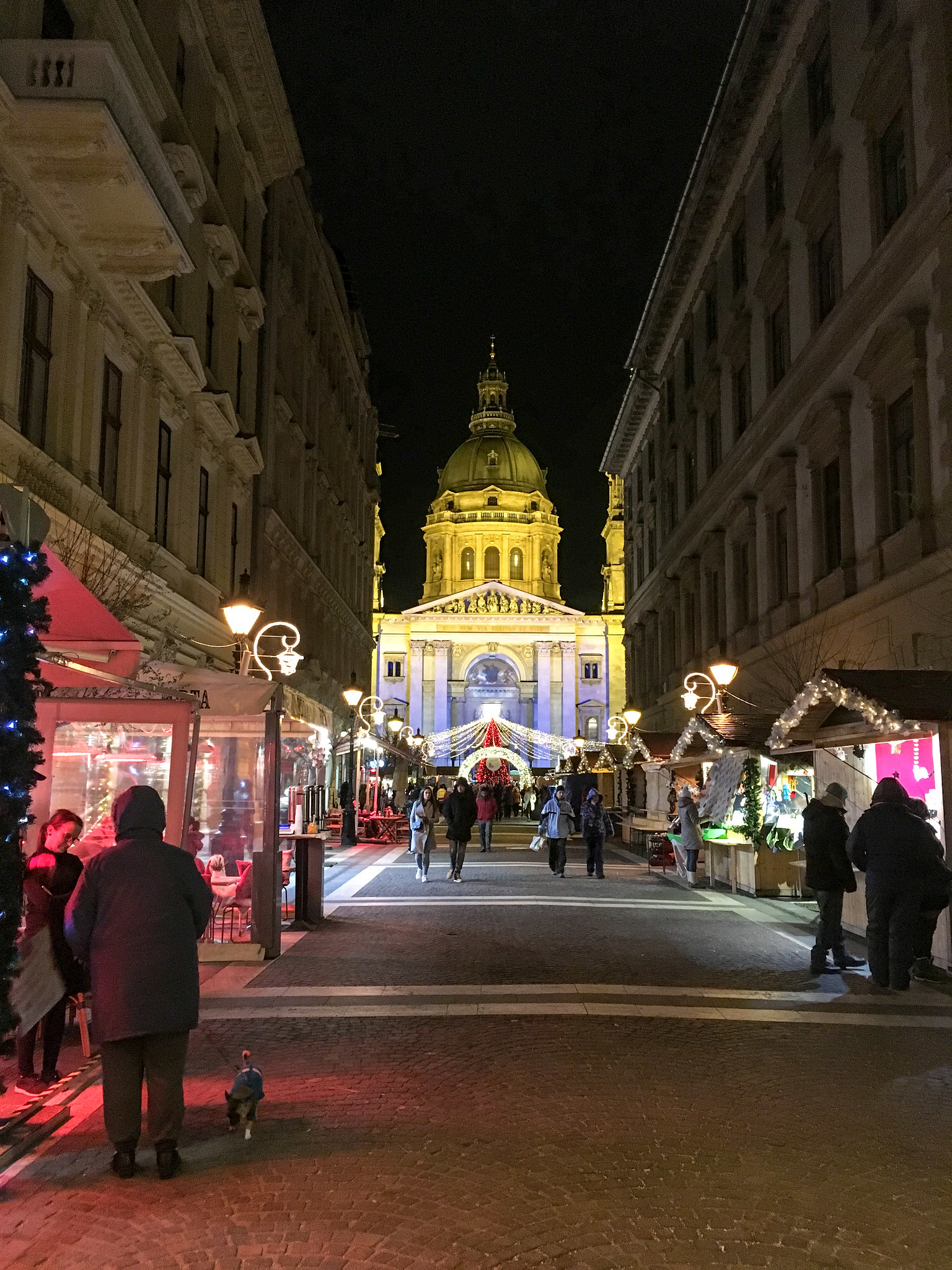 what to wear in budapest in january: be warm at night