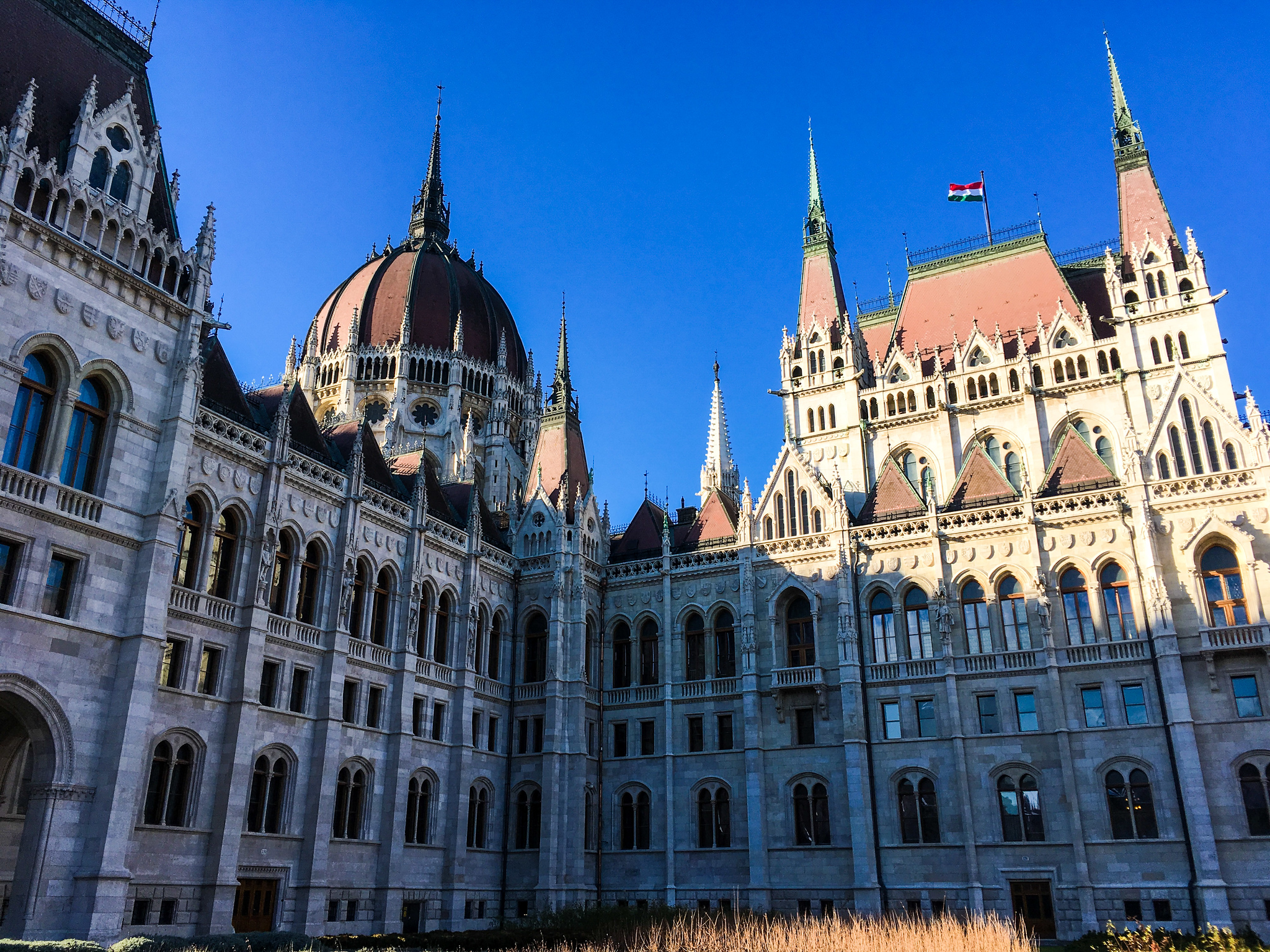 for your backpacking europe itinerary 2 weeks add the parliament in budapest