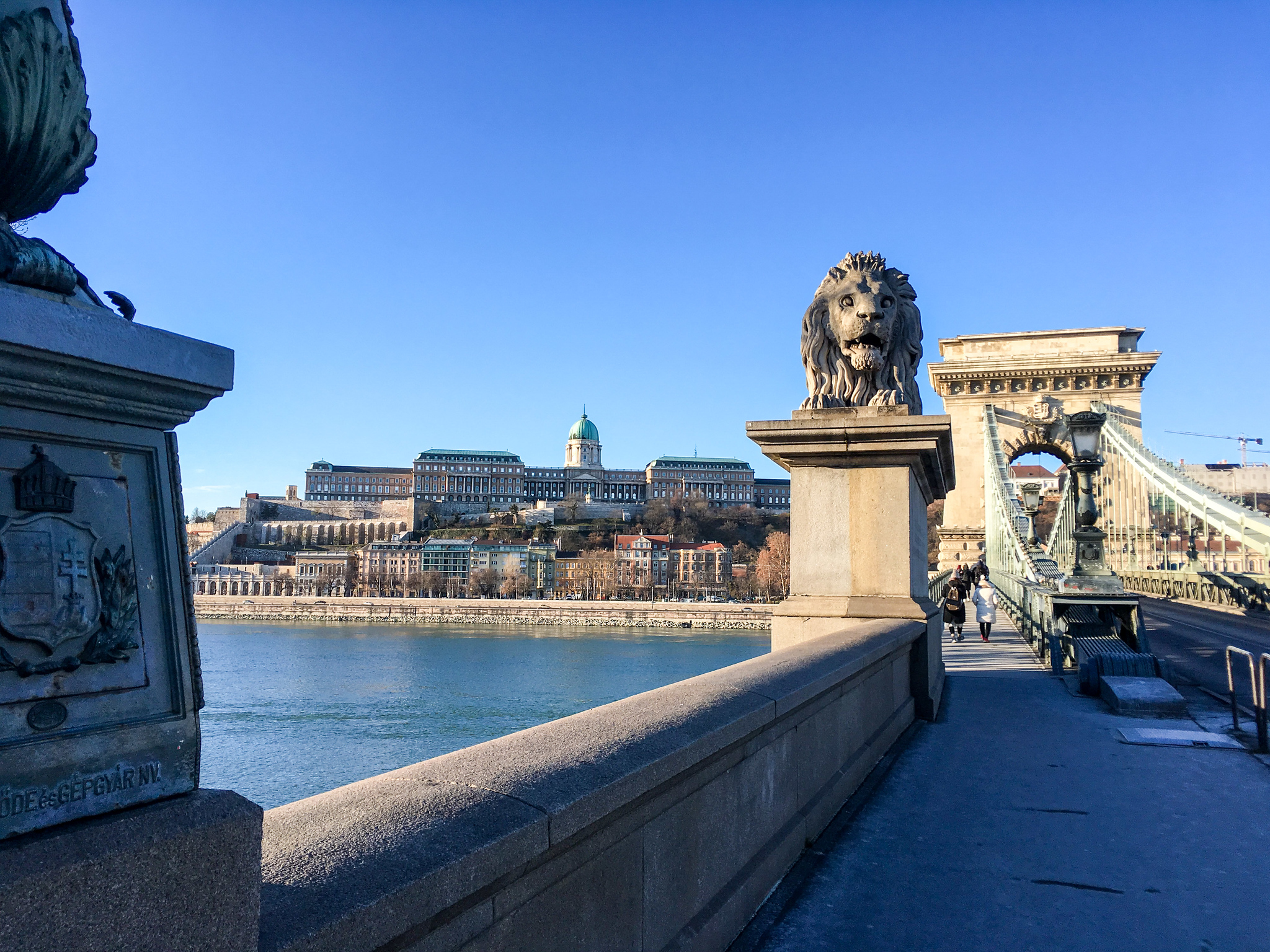 what to wear in budapest in february: something warm for crossing the bridges