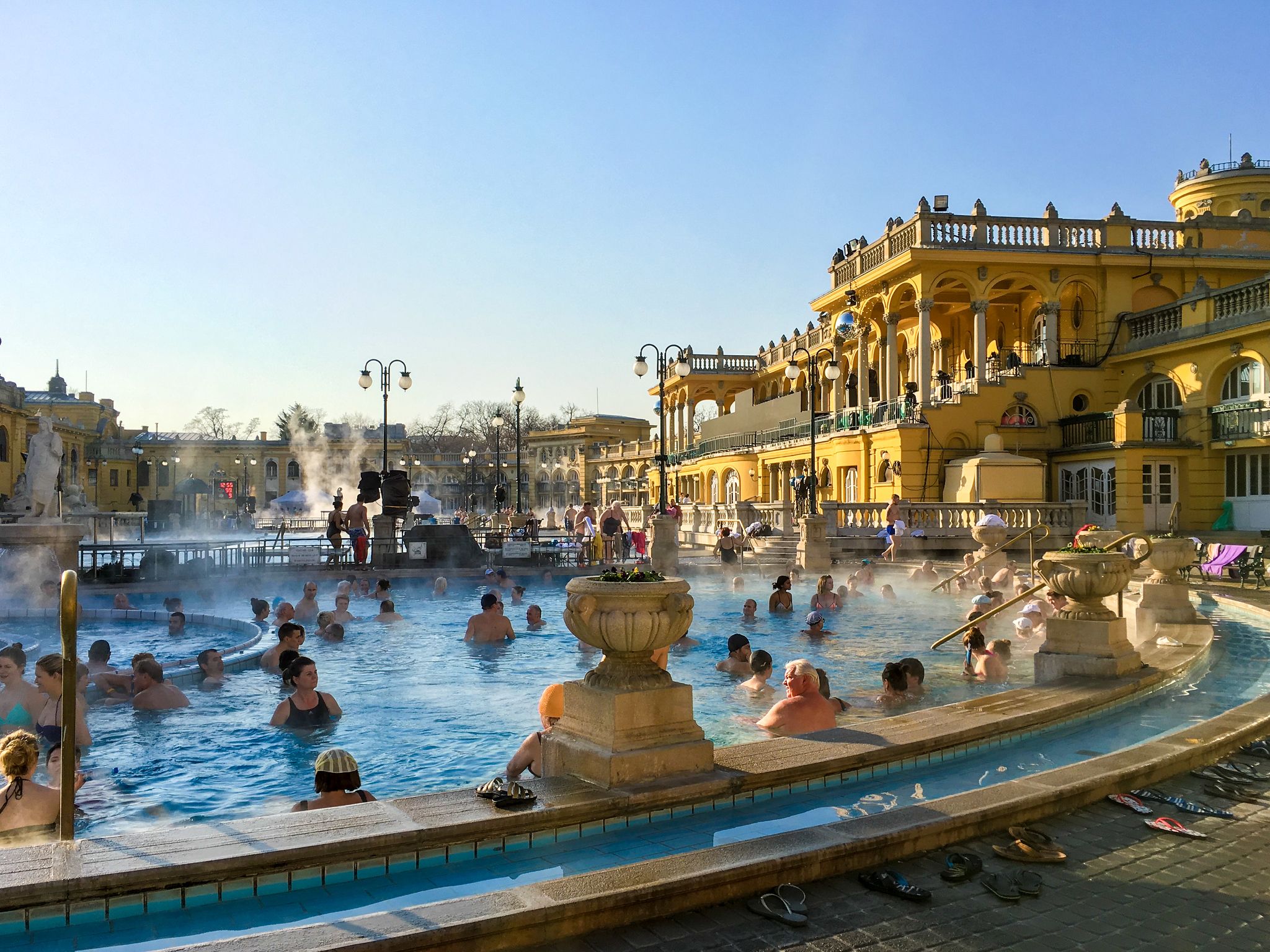 what to wear in budapest in december: bring a bathing suit for the spas
