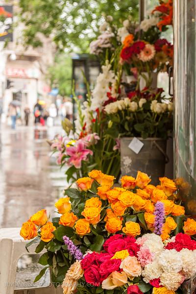 Virágok, Budapest