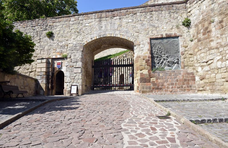 Eger Castle, Hungary, 8 May 2018 1.  Castle entrance.