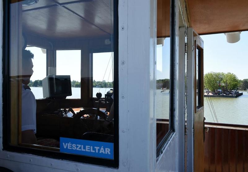 Helka, Lake Balaton, Hungary, 7 May 2018 5.  Returning to the pier at Keszthely.