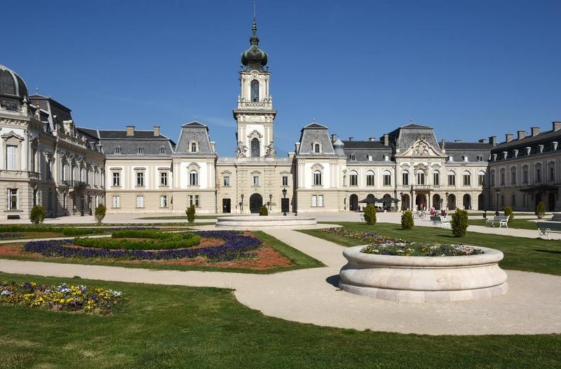 Festetics Palace, Keszthely, Hungary, 7 May 2018.