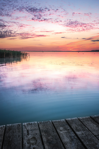 Balaton sunset