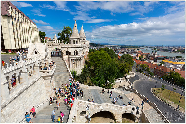 Fisherman's Bastion on the Castle hill, Budapest