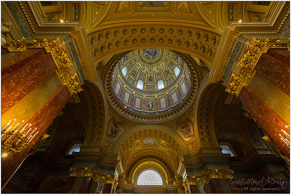 Cupola of St. Stephen's Basilica