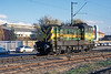 GySEV M44 312 was pottering about between the station and the marshalling yard at Sopron on 10 November 2006